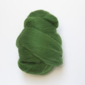Merinowolle 83 Grün